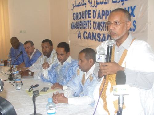 Ould Cheikh SAAD BOUH, l'un des initiateurs de l'appui