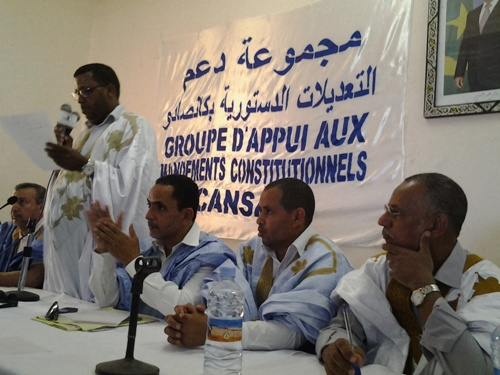 le porte-parole des cadres de la SNIM qui parle des amendements