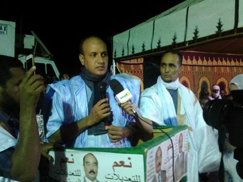 Mohamed oul Daf, Président de l'AZFNDB